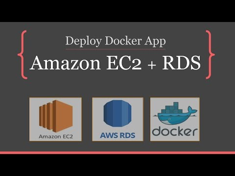 Deploy Dockerized Web API application on Amazon EC2 with RDS