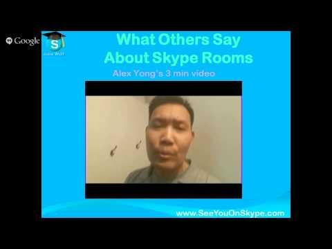 Skype Room Community Webinar - See Details Below For Links