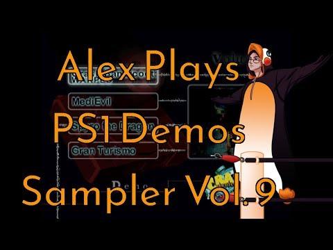 Alex Plays - PS1 Demo Disc (Interactive Sampler Vol. 9)