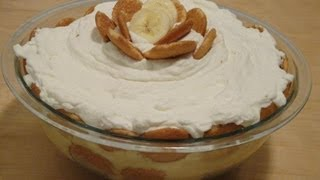 Easy Banana Pudding Recipe!