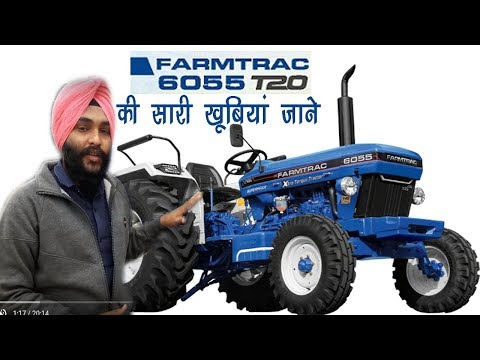 Farmtrac 6055T20 Review!! newest technology
