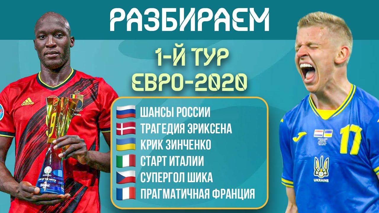 Разбираем итоги первого тура ЕВРО-2020   МЯЧ Подкаст