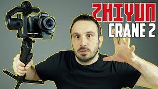 Zhiyun Crane 2 Gimbal incelemek bana nasip oldu :) Özellikle Youtuber lar ve video klip üreticilerinin peşinden koştuğu bu aleti ben de inceledim. Sarsılma ...