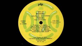Phreek - Weekend (Original 12 Inch Version)