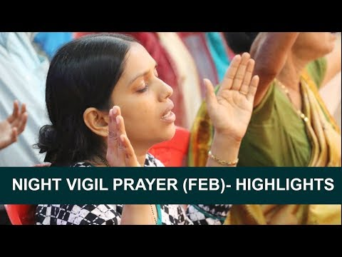 Night Vigil Prayer in Mangalore - February 2018 (Highlights) | Grace Ministry Mangalore