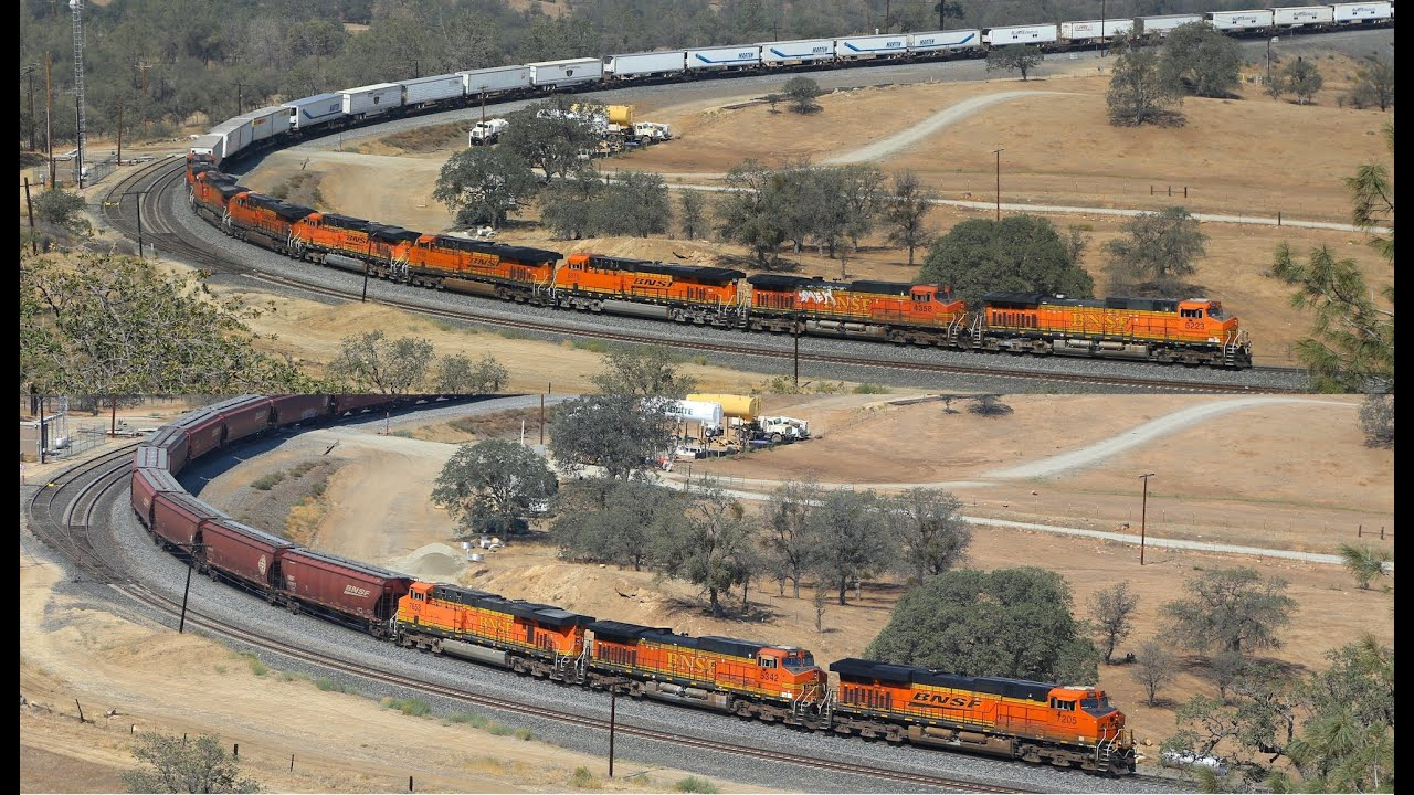 Traveling In California By Train