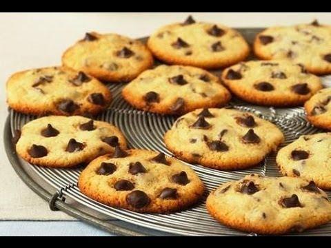 como hacer galletas de chocolate faciles
