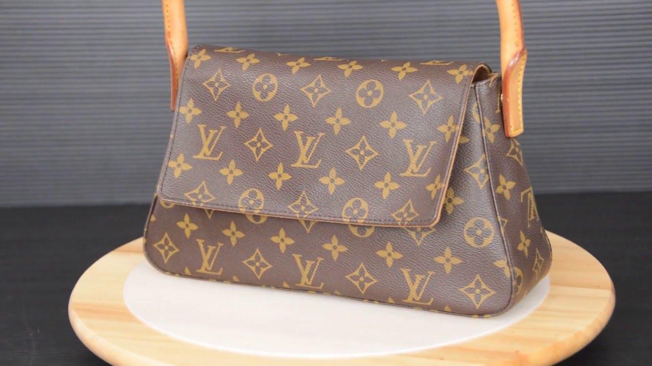 8a3c79abd634 ilovekawaii C01175 - Louis Vuitton Monogram Mini Looping Shoulder Bag M51147