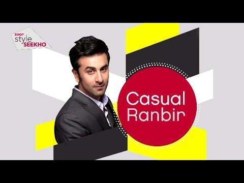 Casual Ranbir Kapoor Ka Style SEEKHO | EXCLUSIVE | zoom turn on