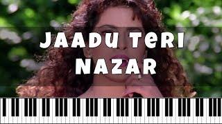 jaadu-teri-nazar-darr--e2-99-ab-hindi-song-notes-piano-4-u--e2-99-ab-cover