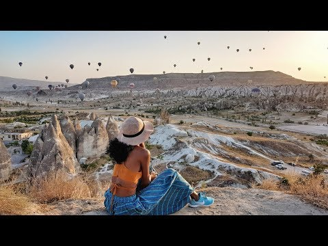 Hot Air Ballon Ride in Cappadocia, Turkey