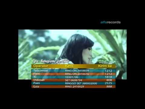 LYLA   Bahagiamu Untukku Official Karaoke Video