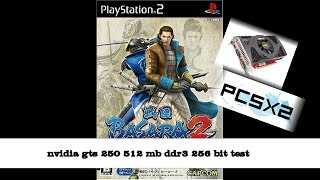 Basara 2 (PC)  4x native resolution pcsx2 || on nvidia gts 250 ddr3 256 bit