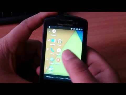 Sony Ericsson live with walkman Android 5.1.1 lollipop Update/Upgrade Part2