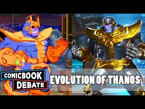 Evolution of Thanos in Games in 8 Minutes (2018)