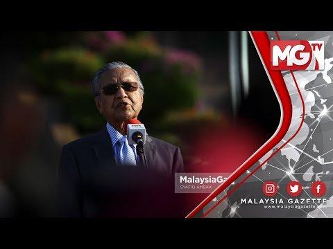 """TERKINI : """"Insiden Rusuhan Kuil Perlu Ditangani Dengan Bijak"""" - Tun Mahathir"""