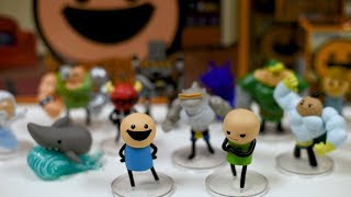 Vinyl Figures Now Available - Cyanide & Happiness Announcement
