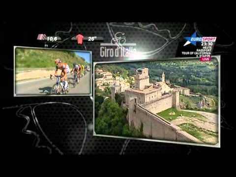 UCI Giro d'Italia 2012 - 10.Etappe - Last 20 Kilometers [Deutsch]