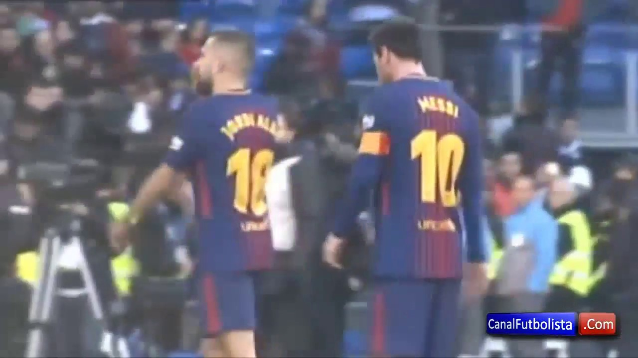 50cbabc96 Special Camera) Leo Messi's celebration after El Clasico - YouTube