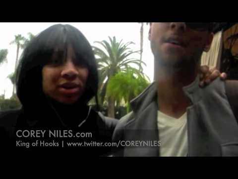 Corey Niles & Lil Mama in Hollywood!