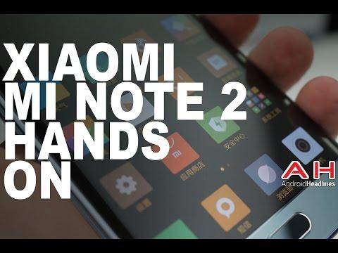Xiaomi Mi Note 2 Hands On