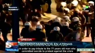 Social tension are increasing in Greece