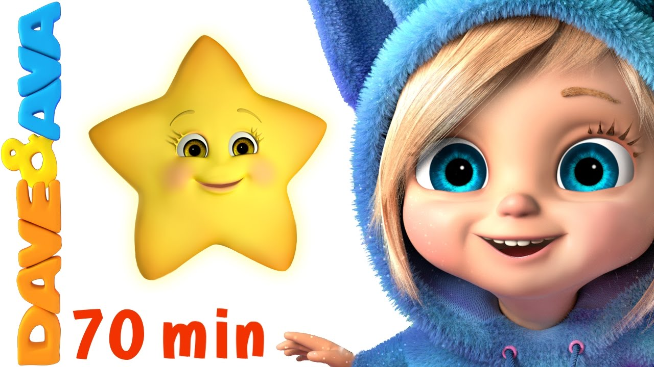 Twinkle Twinkle Little Star Song More Baby Songs And Nursery Rhymes By Dave And Ava