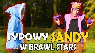 TYPOWY SANDY Z BRAWL STARS W PRAWDZIWYM ŻYCIU!