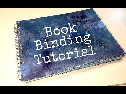 HOW TO BIND A BOOK | BOOK BINDING TUTORIAL