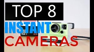 Top 8 Best Instant Cameras You Should Buy in 2017