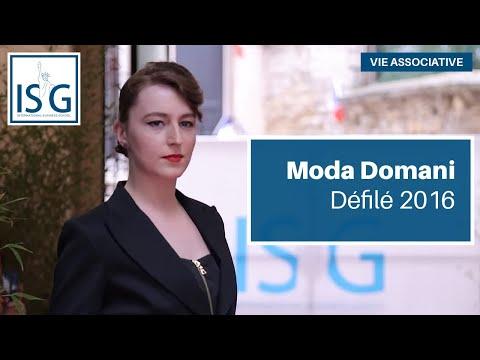 Moda Domani, défilé 2016