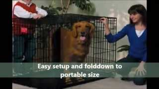 Pet Products Online | Midwest Folding Dog Crate Review | Midwest Dog Crates