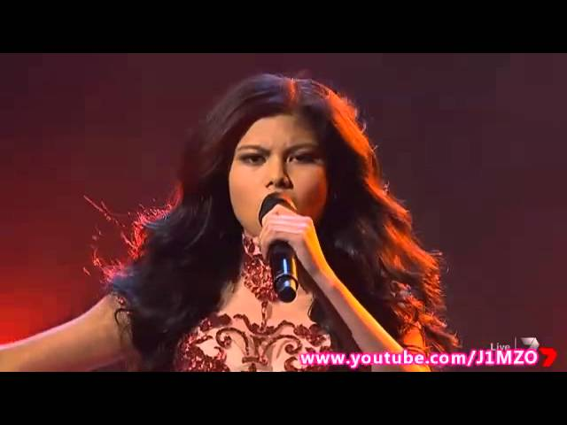 Marlisa Punzalan - Week 10 - Live Show 10 - The X Factor Australia 2014 Top 4 (Song 1 of 2)