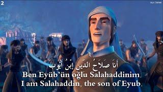 Salahaddin - 2. Bölüm Eşkiyalar HD(Harekeli) Arapça Türkçe ingilizce Sabit Altyazı Selahaddin