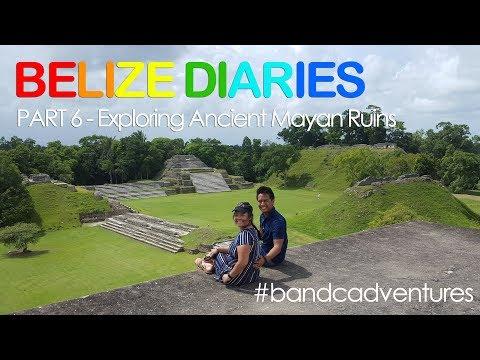 Visiting Ancient Mayan Ruins - Altun Ha - Part 6 - BandCAdventures