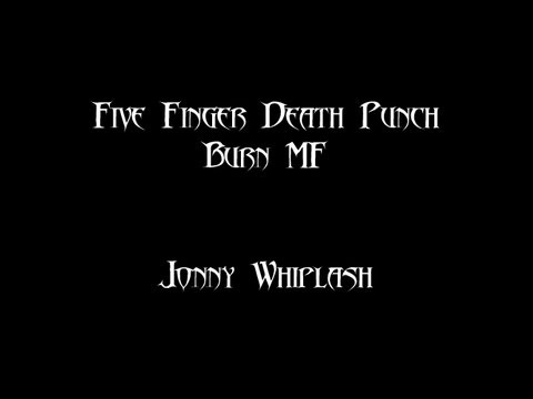 Burn MF | Five Finger Death Punch | Vocal Cover
