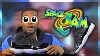 Got The SpaceJam 11s Super Early!