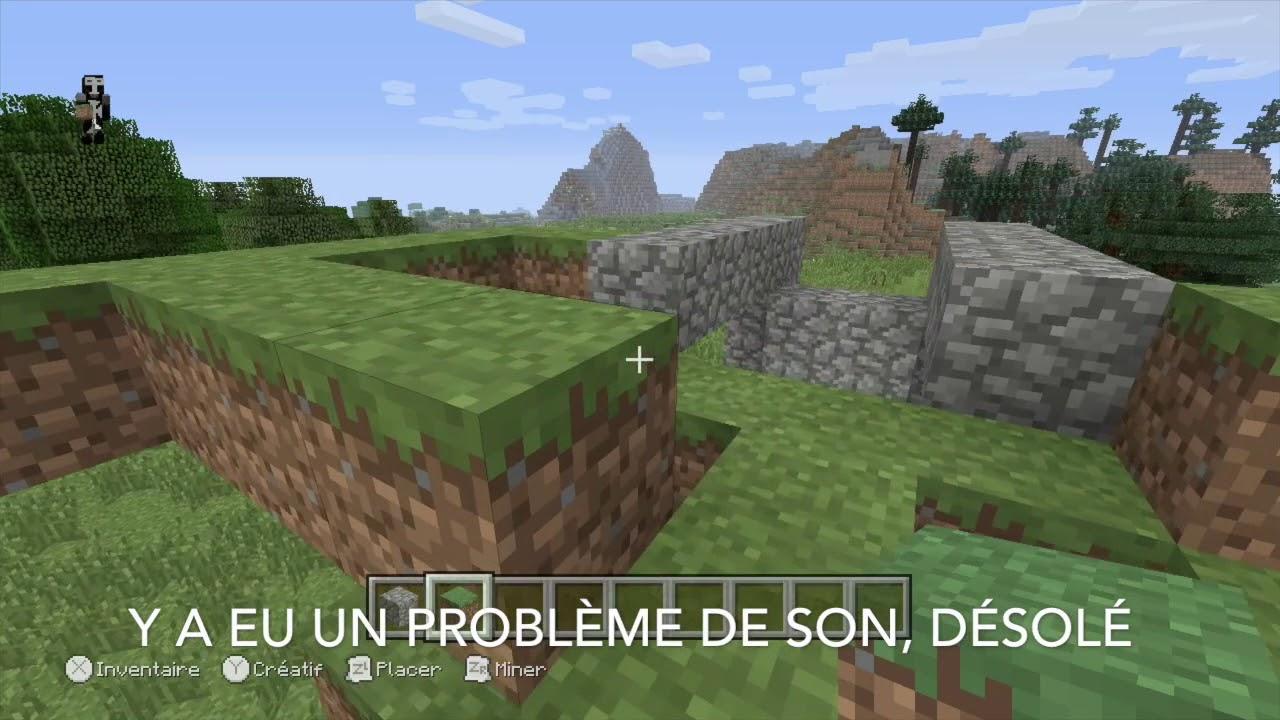 Tutorial : faite un beau jardin dans Minecraft - YouTube
