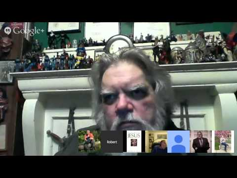 The Bible Geek Hangout 9 - with Dr. Robert M. Price (after 40 mins)