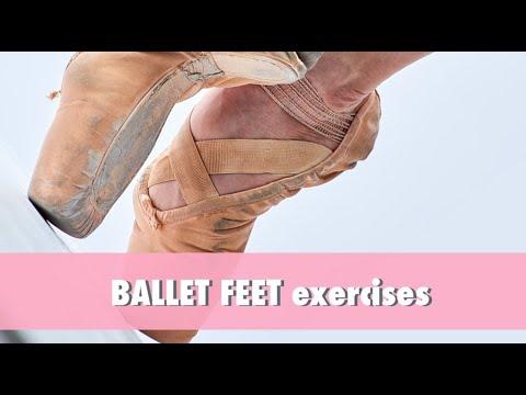 BALLET EXERCISES - ballet feet