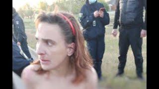 В Харькове голая женщина гуляла с отрезаной головой своей дочери
