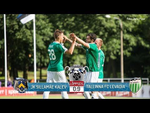 26. voor 2017: JK Sillamäe Kalev - Tallinna FC Levadia 0:9 (0:2)