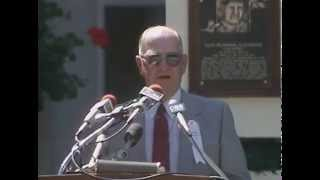 Enos Country Slaughter 1985 Hall of Fame Induction Speech