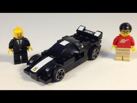 Lego Ferrari Fxx 30195 Shell V Power Promotional Polybag Youtube
