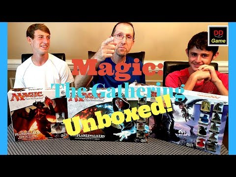 Magic: The Gathering Board Games Unboxed! Gaming on the Cheap #8