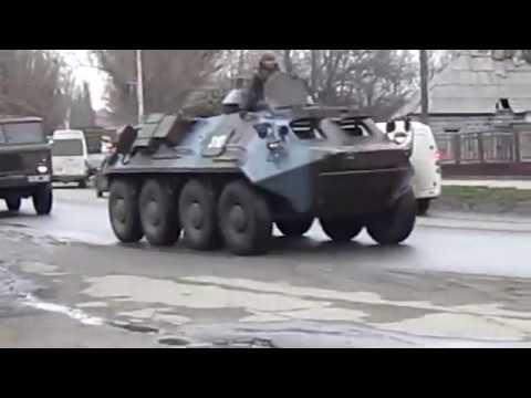 Колона военная техники