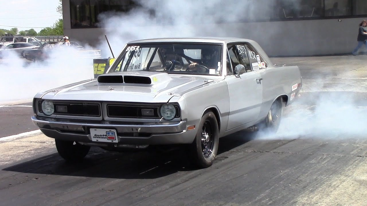 Fast and y 1970 Tubbed Dodge Dart - YouTube