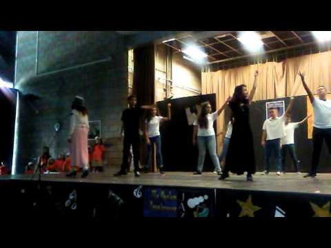 Celerity palmati charter school. Jaylie Mulato singing beautiful Andra Day Rise up