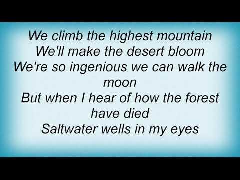 Julian Lennon - Saltwater Lyrics