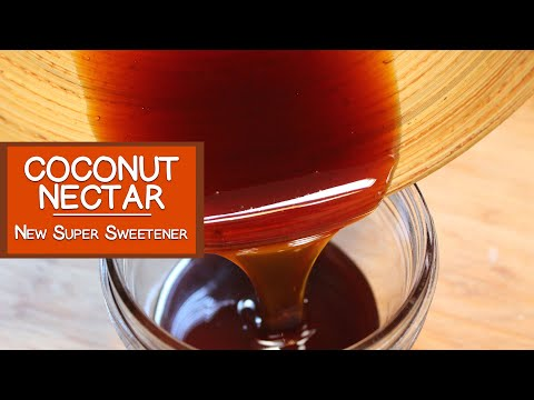 Coconut Nectar, The New Super Sweetener